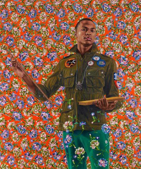Kehinde Wiley,  Anthony of Padua , 2013
