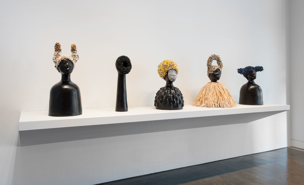 Hammer Projects: Simone Leigh. Installation view, Hammer Museum, Los Angeles, September 17, 2016–January 8, 2017. Photo: Brian Forrest.