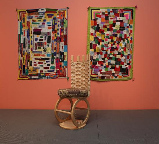 Installation view of The Global Africa Project at MAD, 2010.