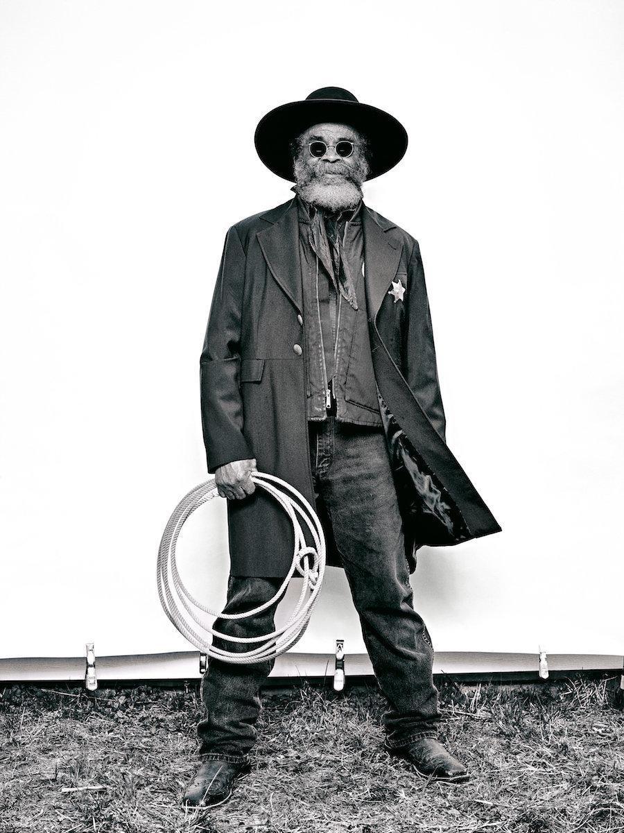 Brad Trent,  Ellis 'Mountain Man  Harris  from 'The Federation of Black Cowboys', 2016