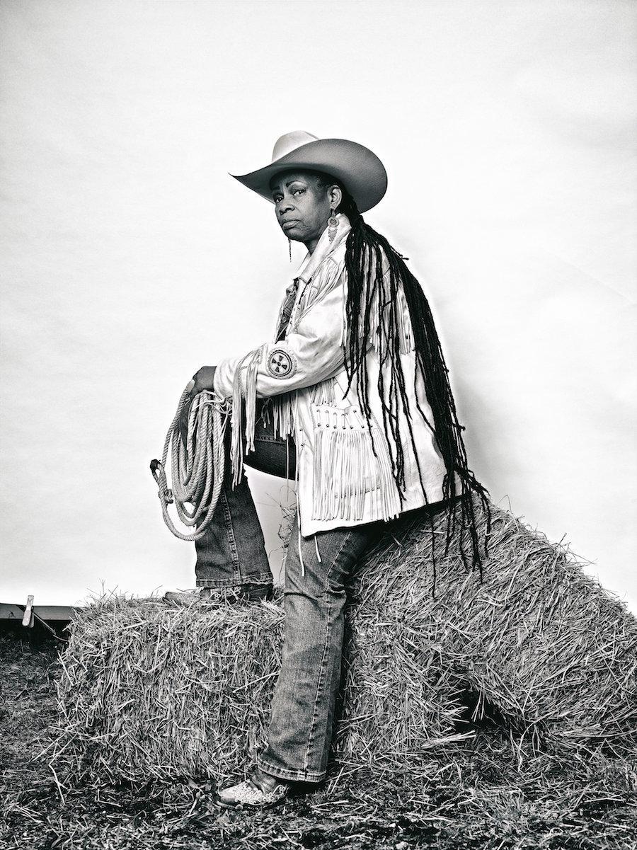 Brad Trent, ' Mama' Kesha Morse  from 'The Federation of Black Cowboys,' 2016.