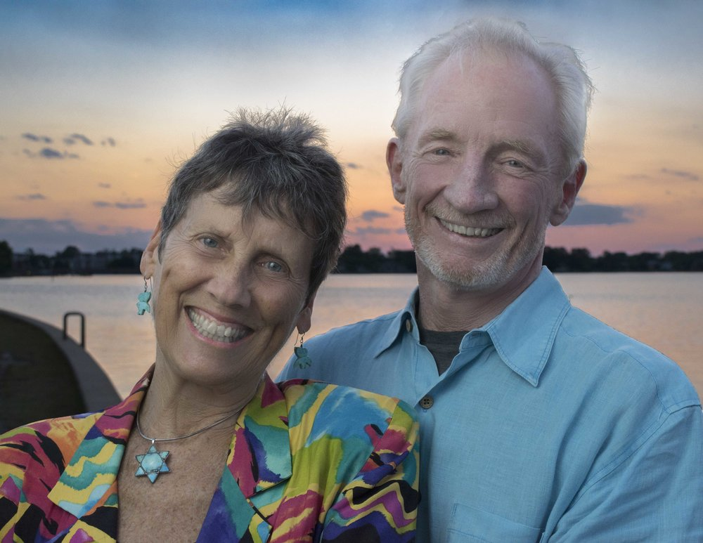 Judith Stevens and Jack Callan