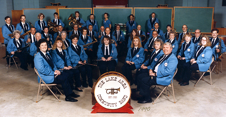 The band in 1990.