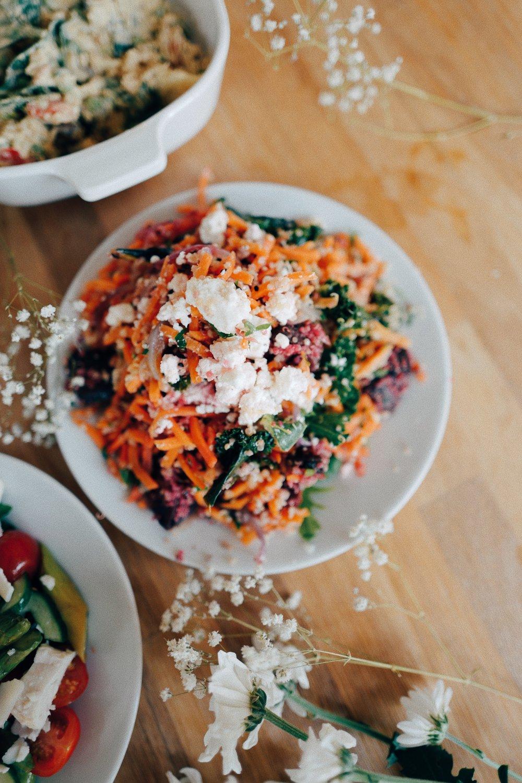 Quinoa & Feta Medley