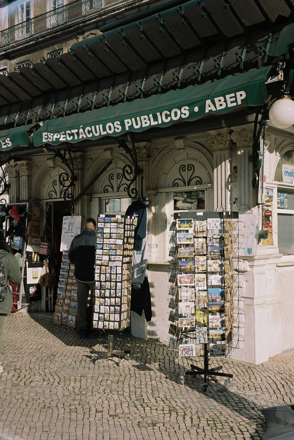 Lisbon, Restauradores.