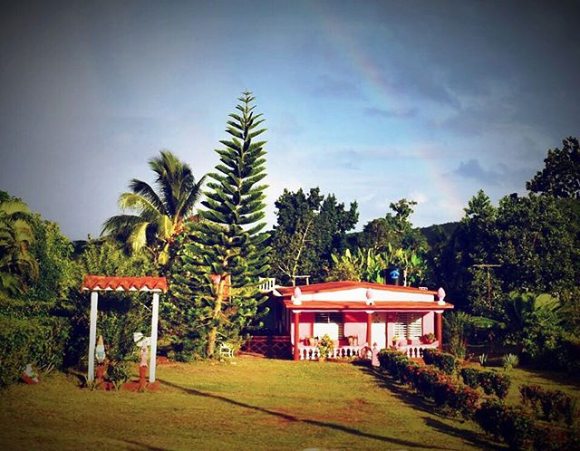 Can you see the rainbow? Little house on the way to Viñales Valley. Colors of Cuba!  #cuba #vinales #viñales #vinalescuba #vinalesvalley #photography #photooftheday #photo #colorsofcuba #livecolorfully #colorful #house #rainbow #rainbows #travel #travelphotography #travelgram #travelculture #culture #culturetravel #cultures #caribbean