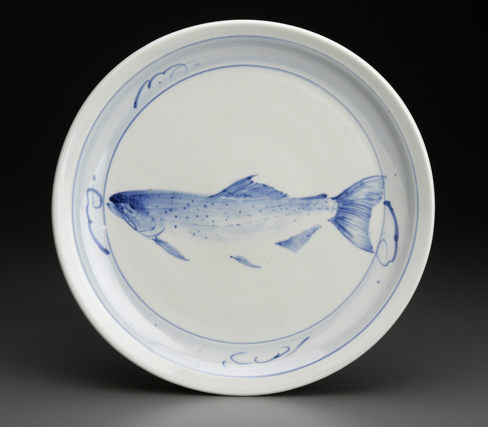 Dinner Plate with Fish