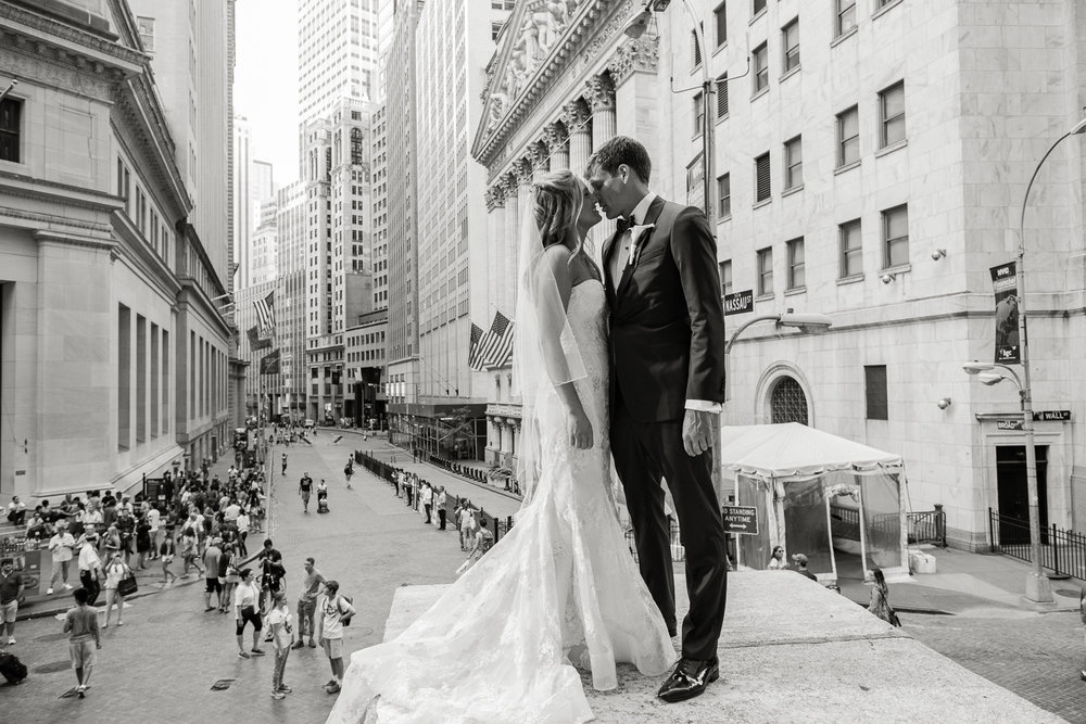 Wall Street Wedding