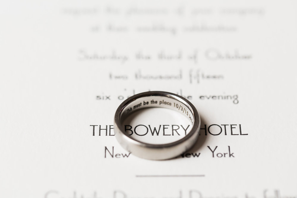 A Wedding At Bowery Hotel