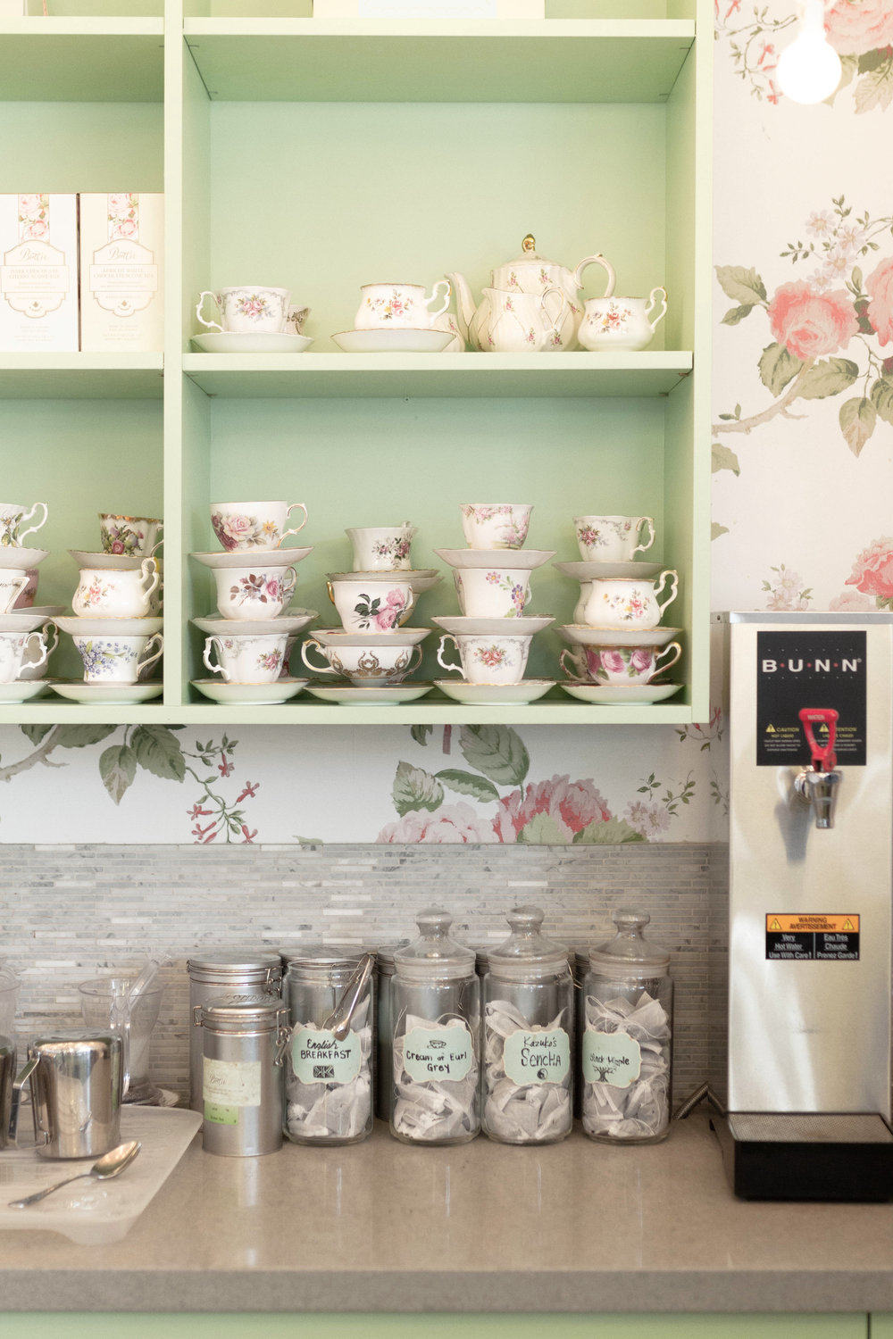 We highly recommend booking a high tea at Butter, served in these lovely teacups.