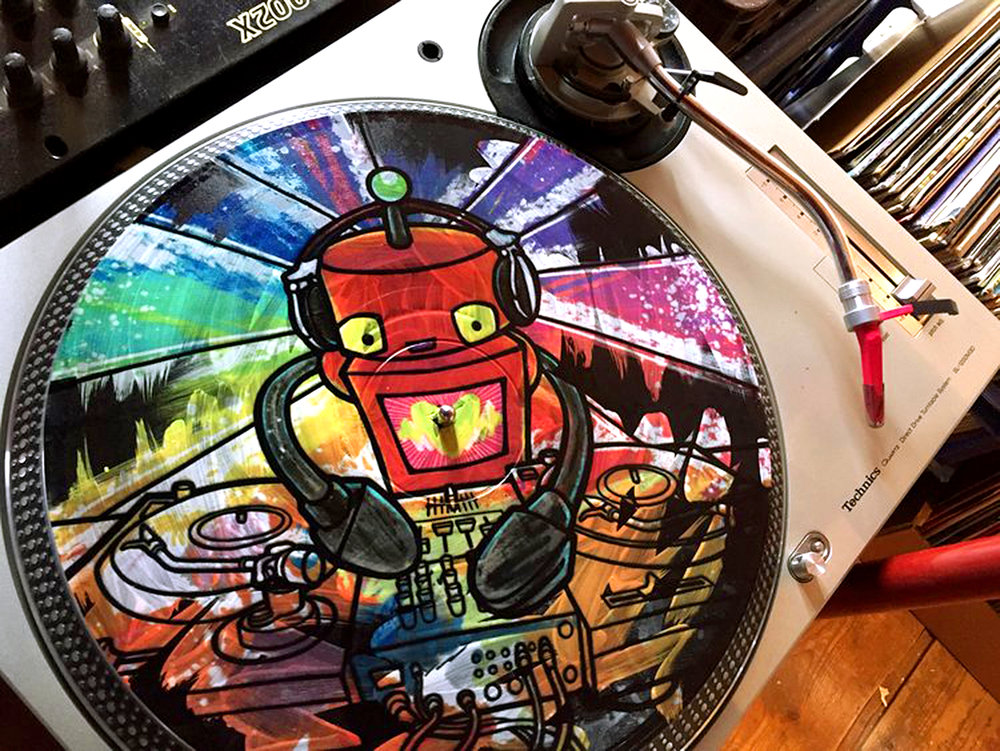Robot Bsides Photo - click to download