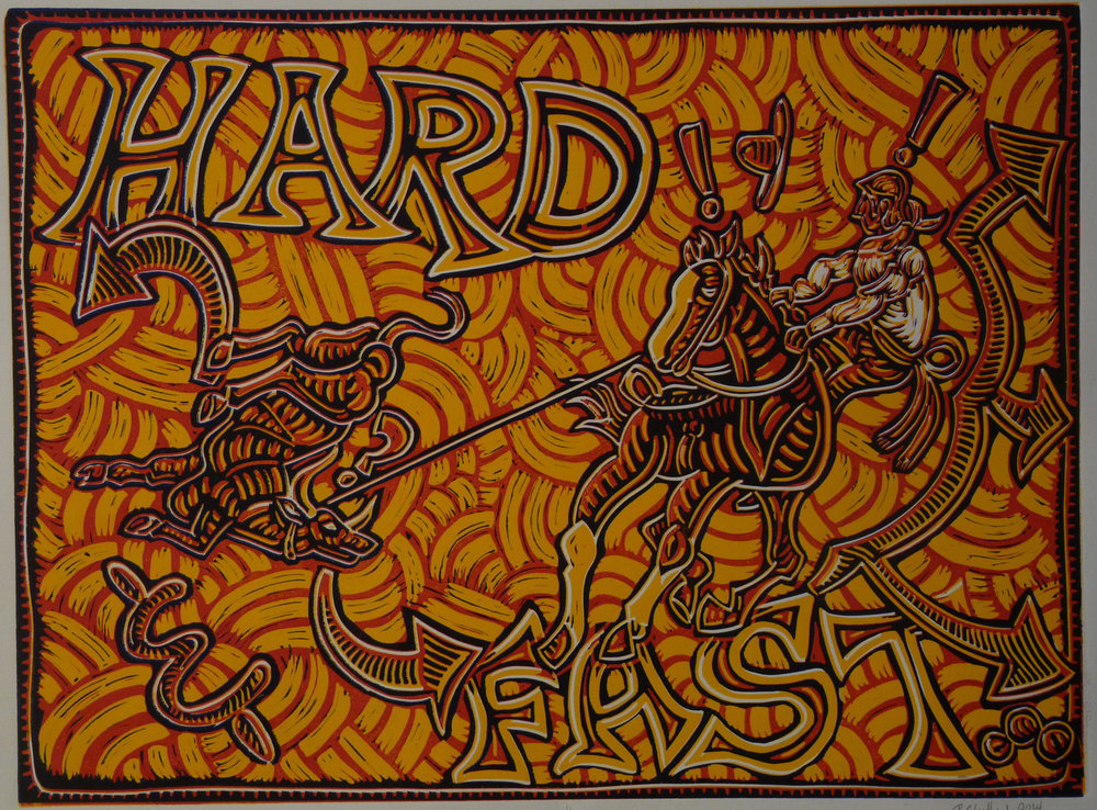 Hard & Fast, Red & Yellow 2014