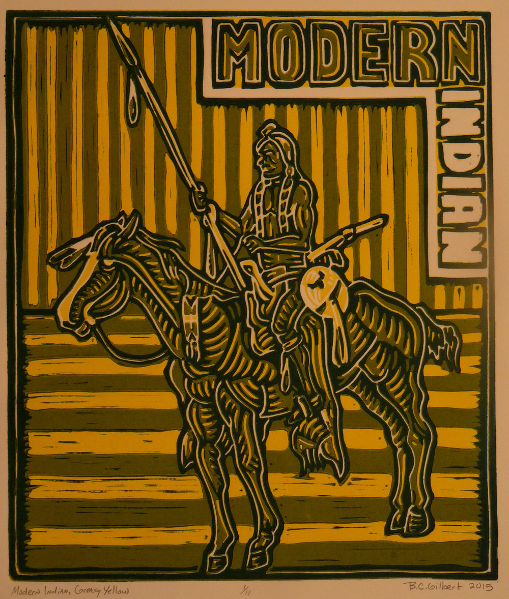 Modern Indian, Greasy Yellow 2015