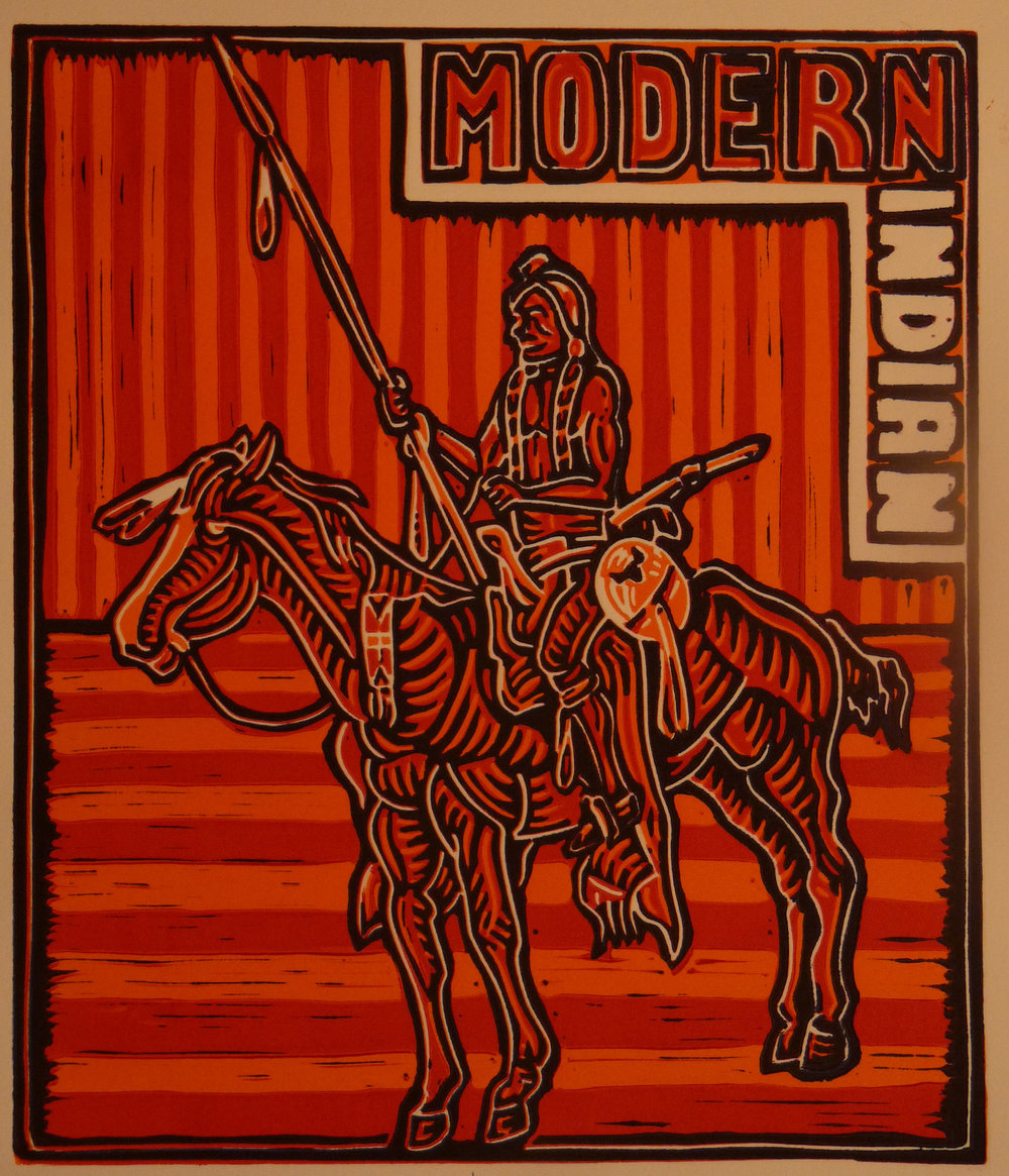 Modern Indian, Choke Cherry 2015