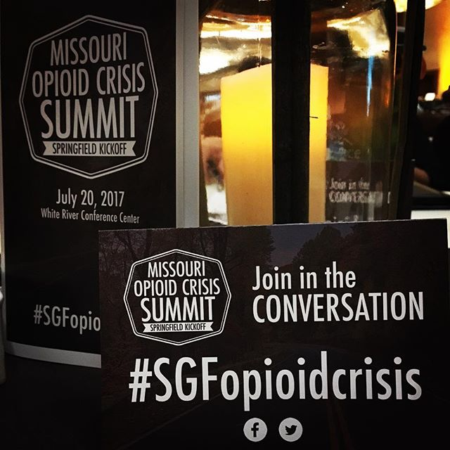 Important things being discussed this morning at the Missouri Opioid Crisis Summit