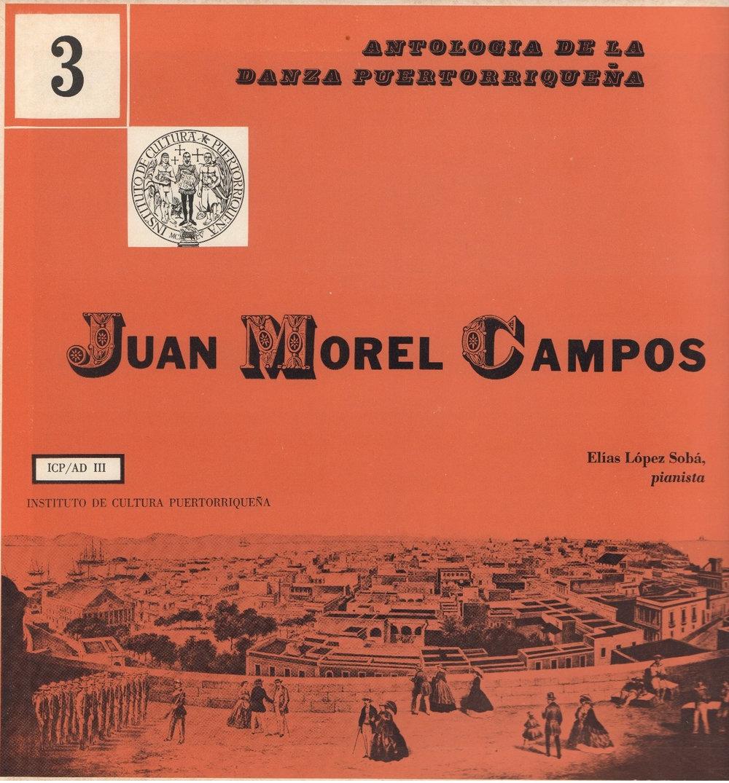 Danzas de Juan Morel Campos