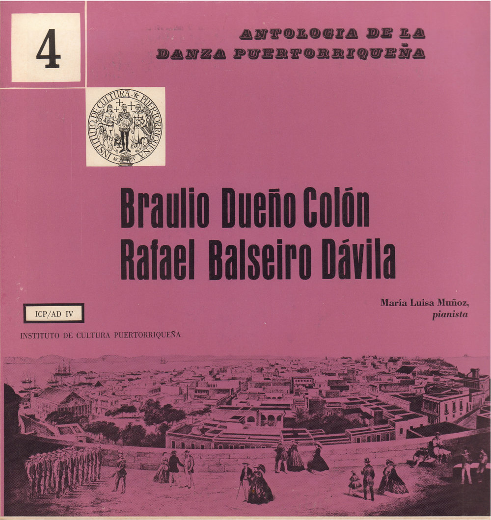 Danzas de Braulio Dueño Colón y Rafael Balseiro Dávila