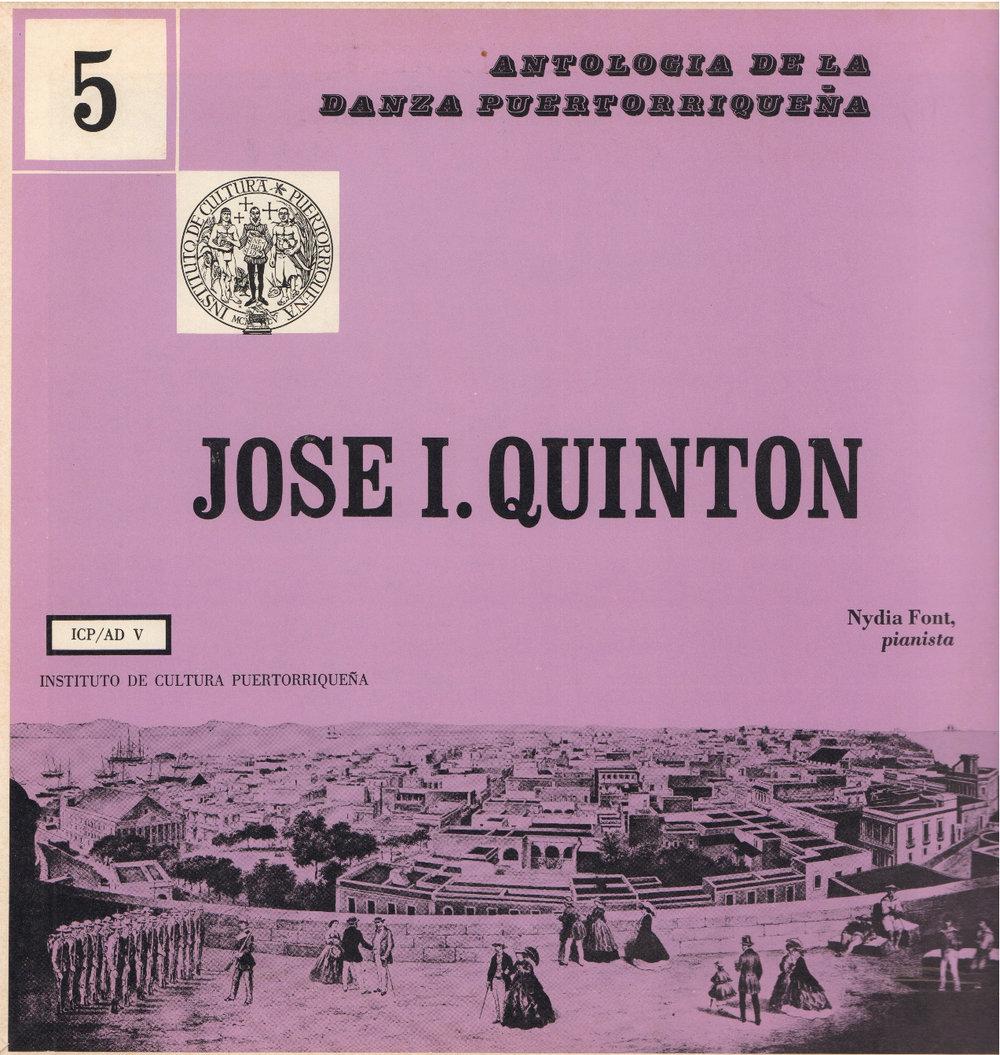 Danzas de José I. Quintón