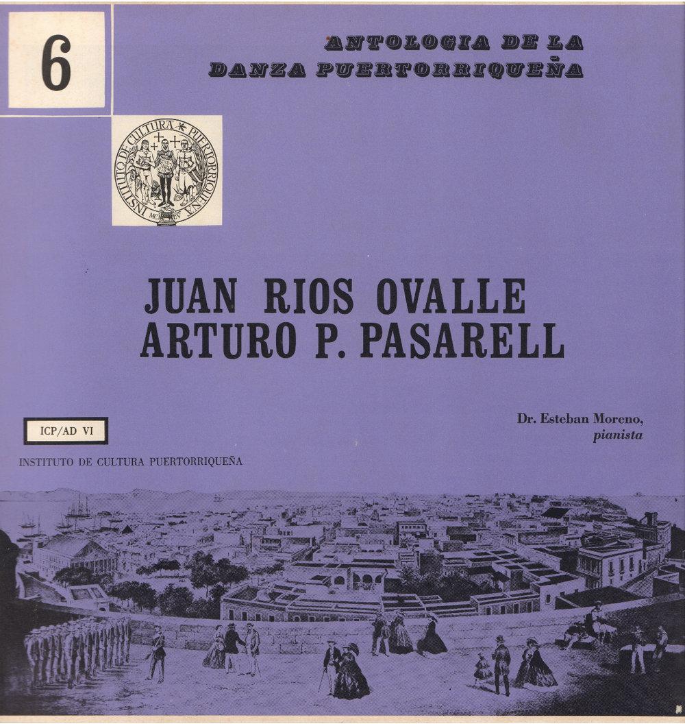 Danzas de Juan Ríos Ovalle y Arturo P. Pasarell