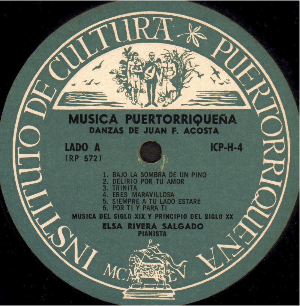 Danzas de Juan F. Acosta