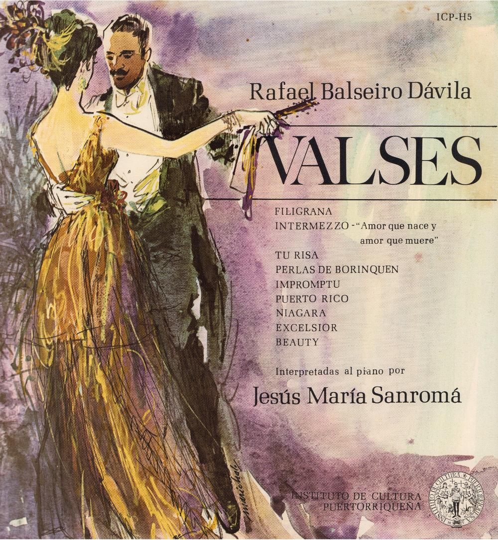 Valses de Rafael Balseiro Dávila