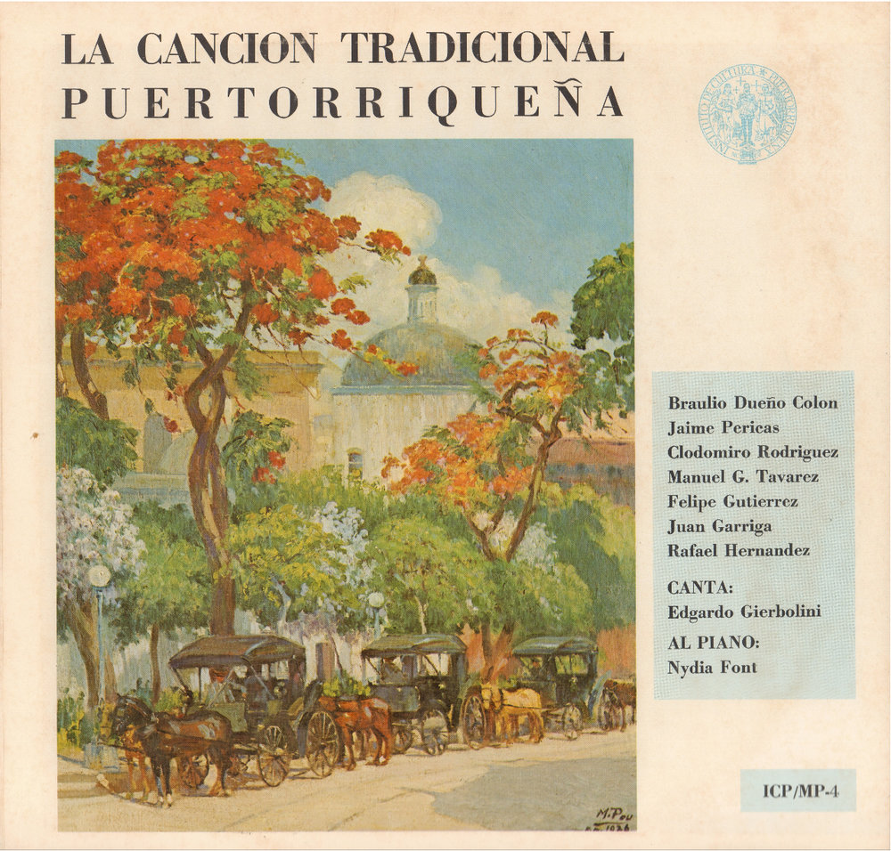 La Canción Tradicional Puertorriqueña