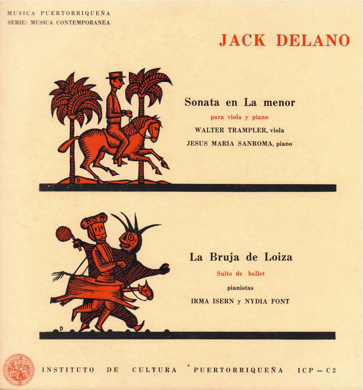 'Sonata en La menor para viola y piano' / 'La Bruja de Loíza - Suite de ballet' de Jack Delano