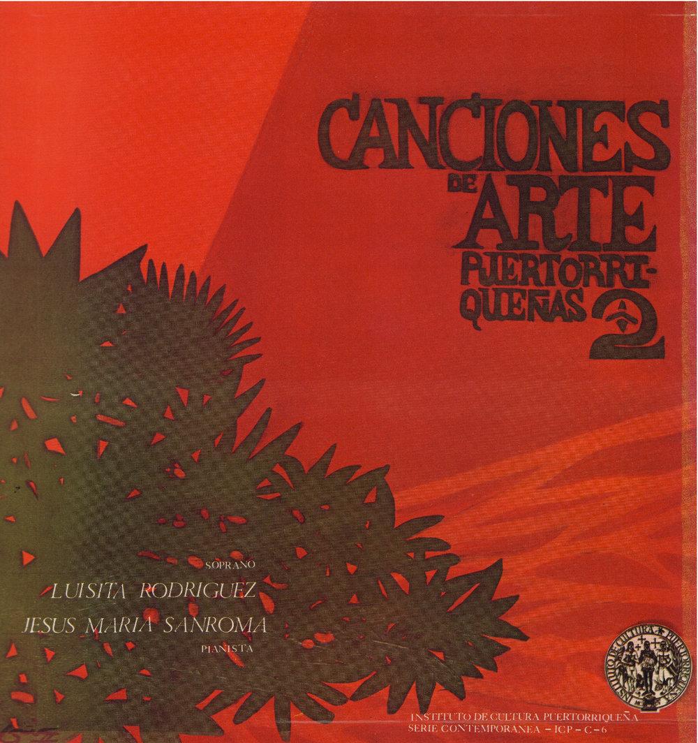 Canciones de Arte Puertorriqueñas 2
