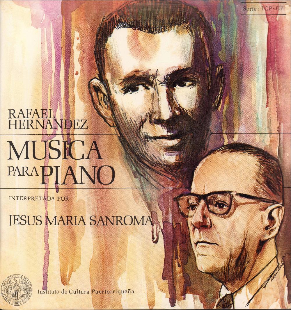 Música para piano de Rafael Hernández