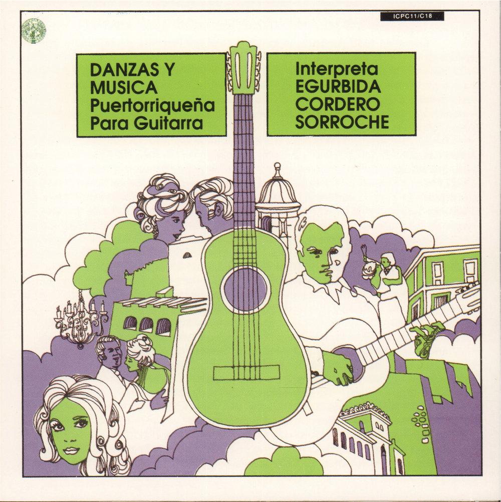Danzas y Música Puertorriqueña para Guitarra