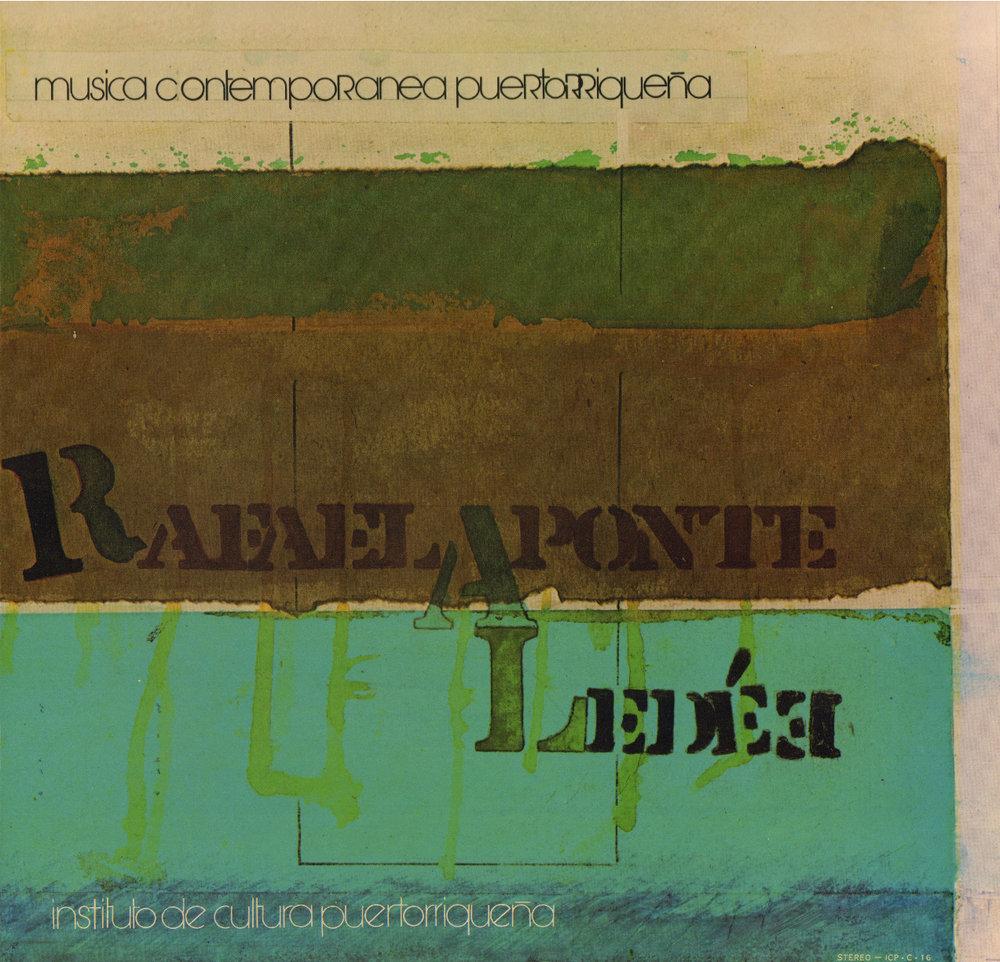 Música Contemporánea Puertorriqueña: Rafael Aponte Ledée