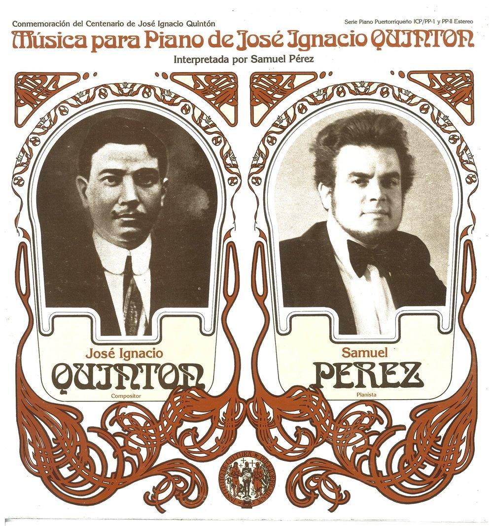 ICP/PP-1, PP-2: Música para piano de José Ignacio Quintón