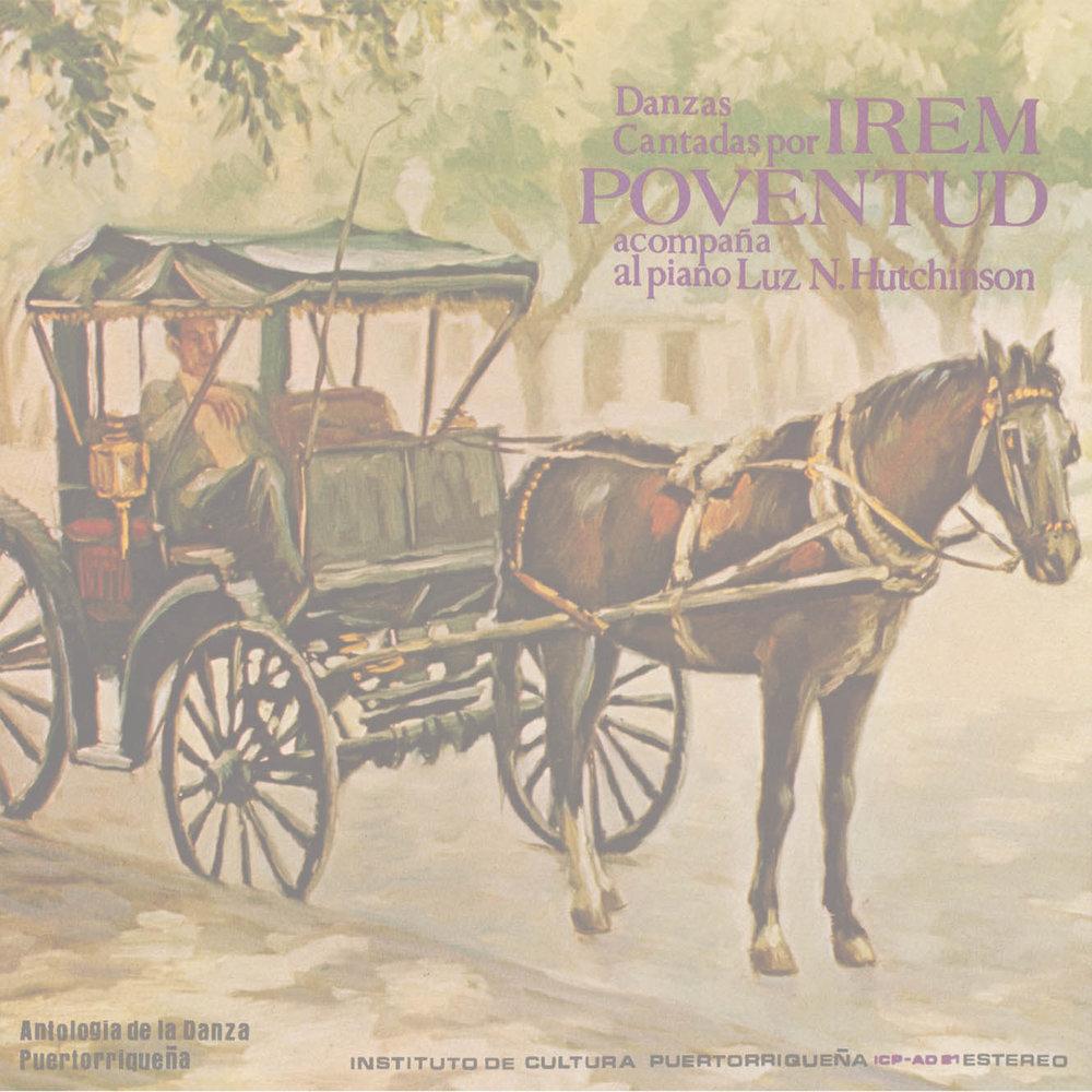 Danzas cantadas por Irem Poventud acompaña al piano Luz N. Hutchinson