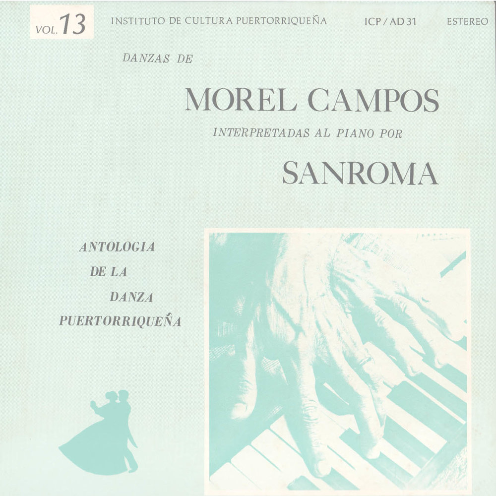 Danzas de Morel Campos Vol. 13