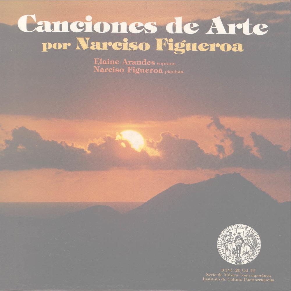 Canciones de Arte Vol. 3: Canciones de Arte por Narciso Figueroa
