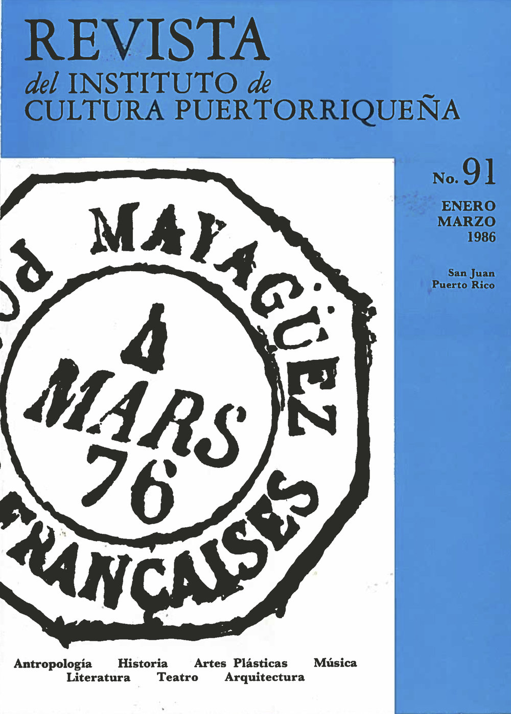 Número 91 / 1986