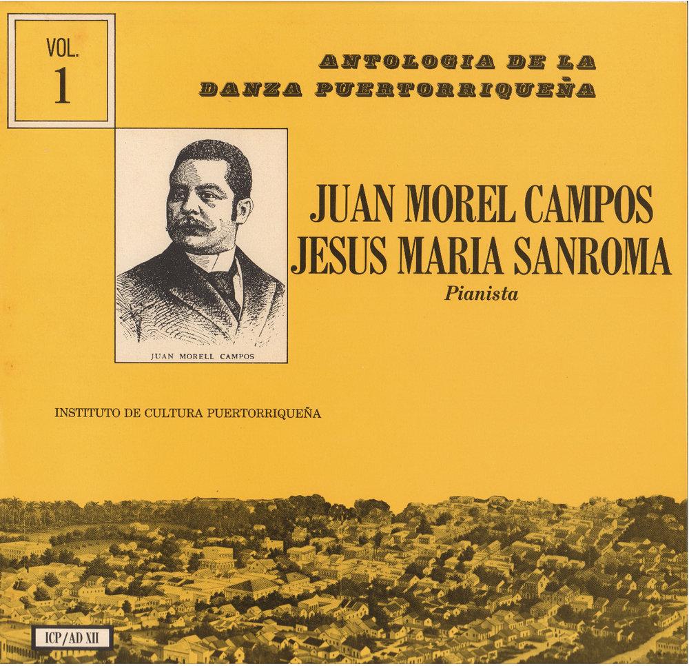 Danzas de Morel Campos Vol. 1