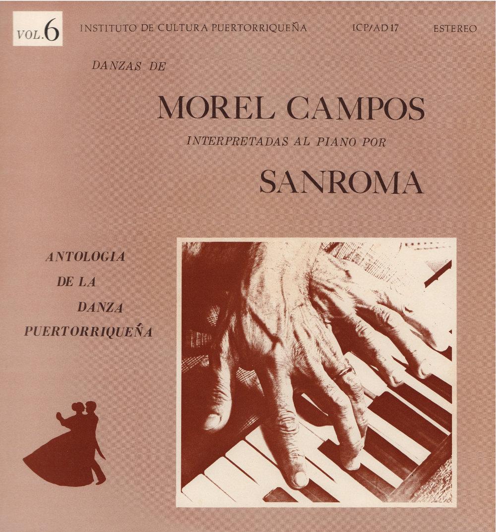 Danzas de Morel Campos Vol. 6