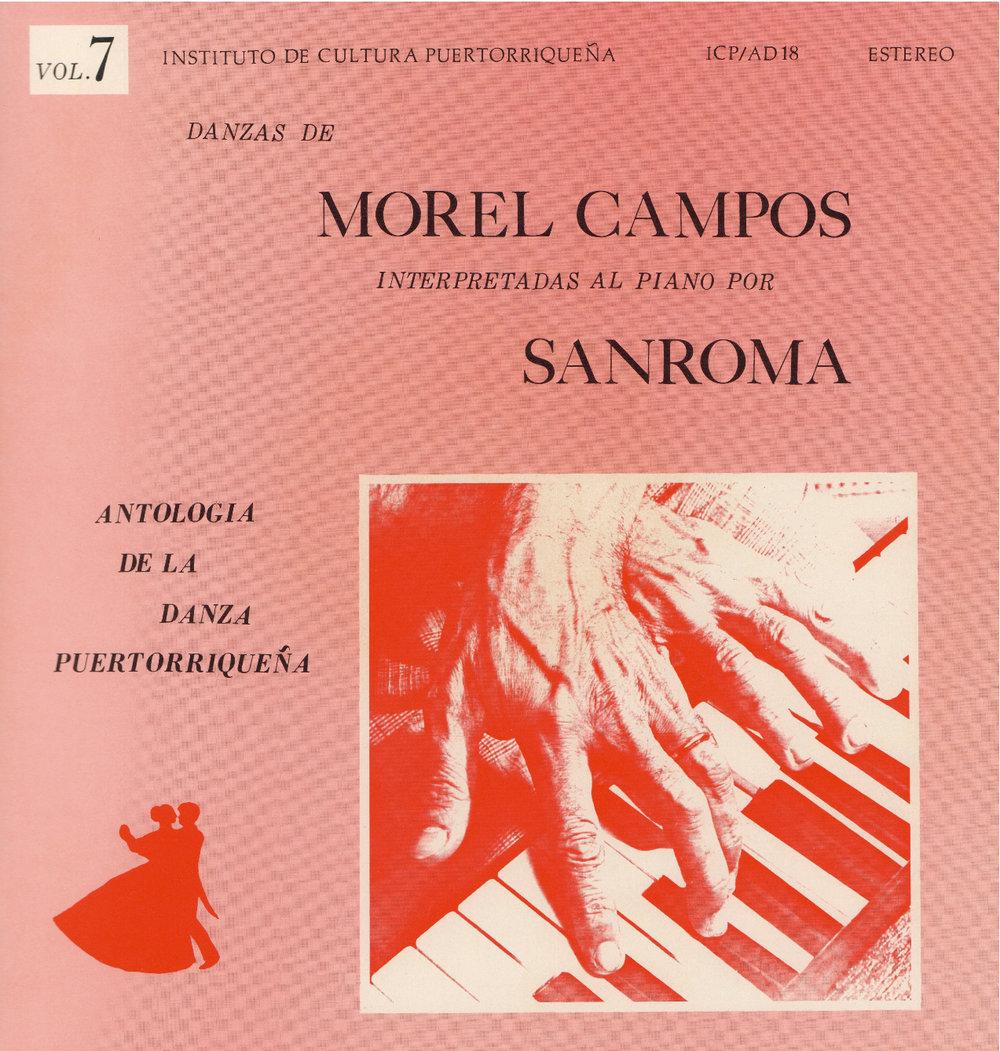 Danzas de Morel Campos Vol. 7