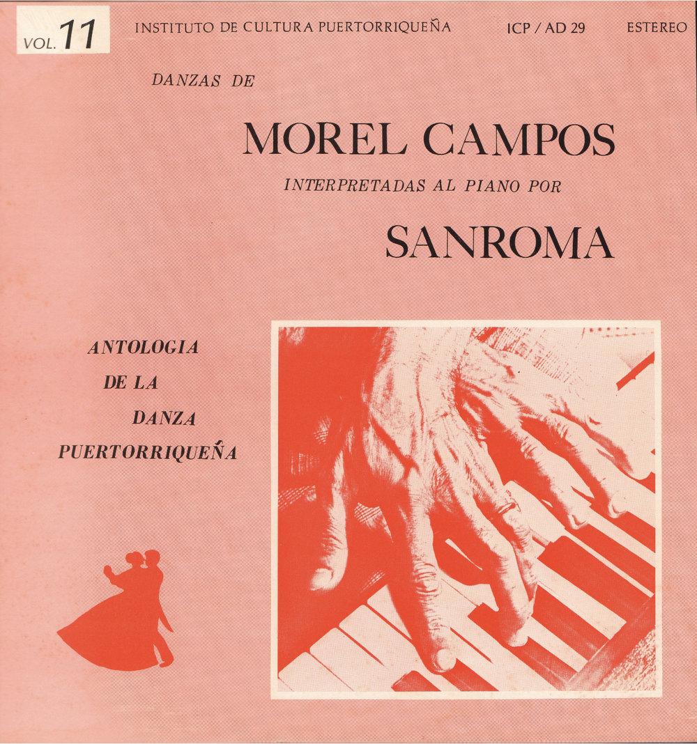 Danzas de Morel Campos Vol. 11