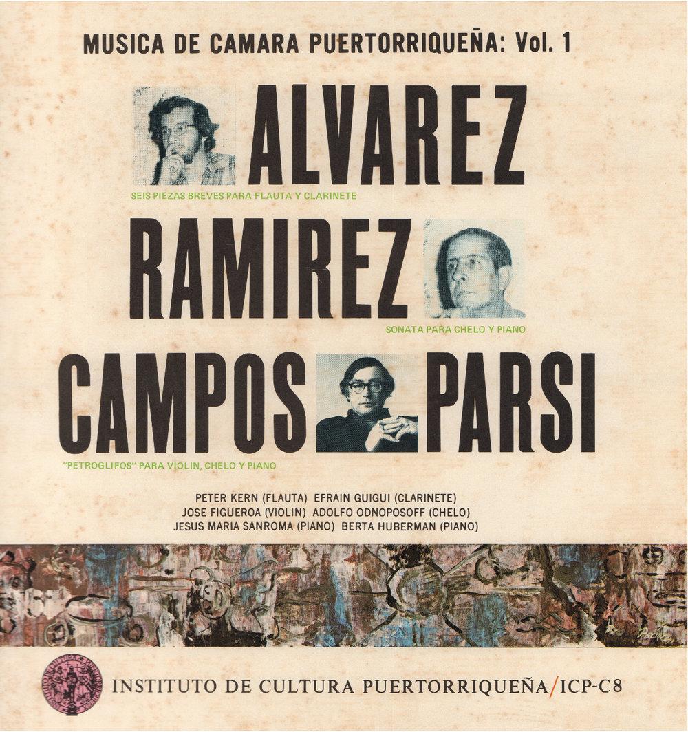 Música de Cámara Puertorriqueña Vol. 1
