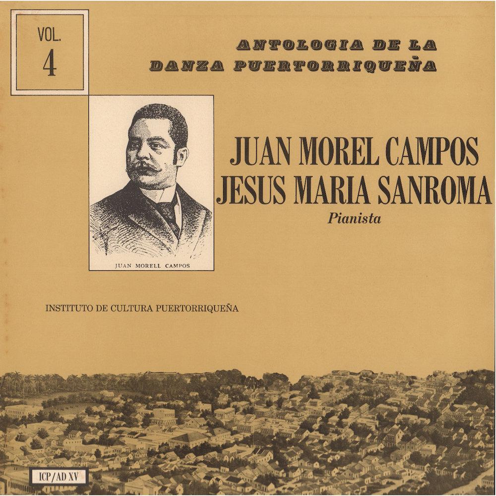 ICP/AD-15: Danzas de Juan Morel Campos Vol. 4  , interpreta Jesús María Sanromá