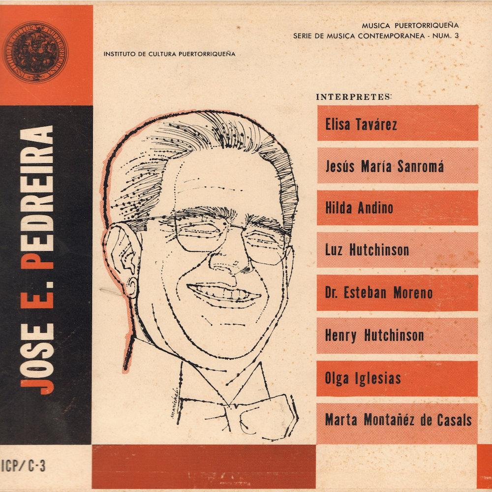 ICP/C-3: Obras de José E. Pedreira,   interpretada por Henry Hutchinson, Luz Hutchinson y Jesús María Sanromá.