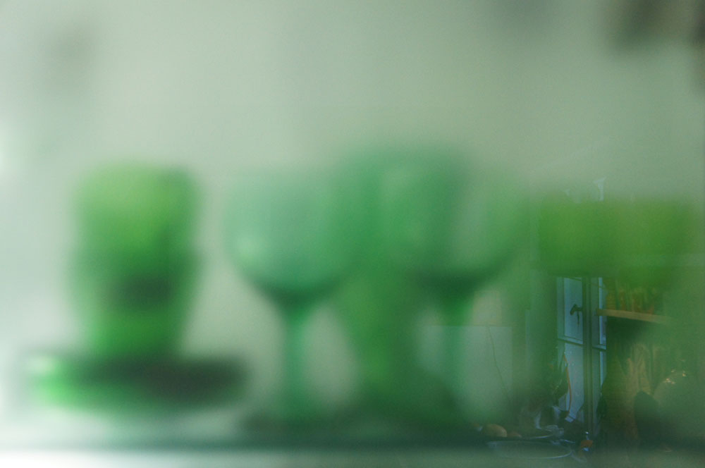 JESSICA BACKHAUS, Green World (from the series ...the strawberry corn changed everything...), 2012