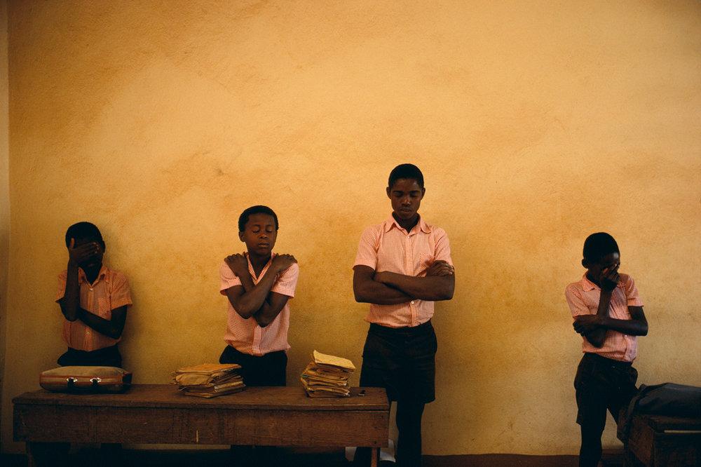 ALEX WEBB Bombardopolis, Haiti, 1986