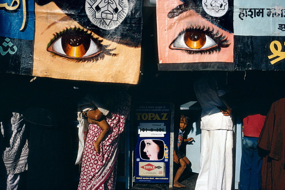 ALEX WEBB Bombay, India, 1981