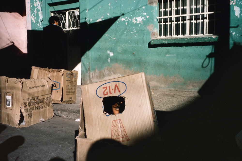 ALEX WEBB Léon, Mexico, 1987