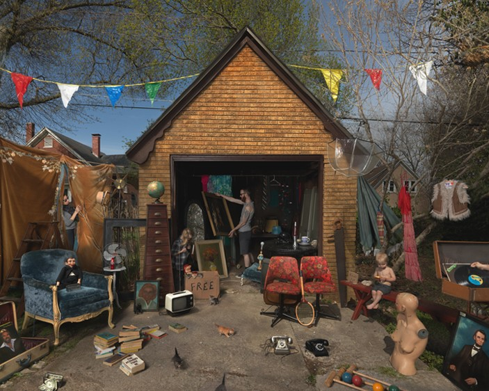JULIE BLACKMON Garage Sale, 2013