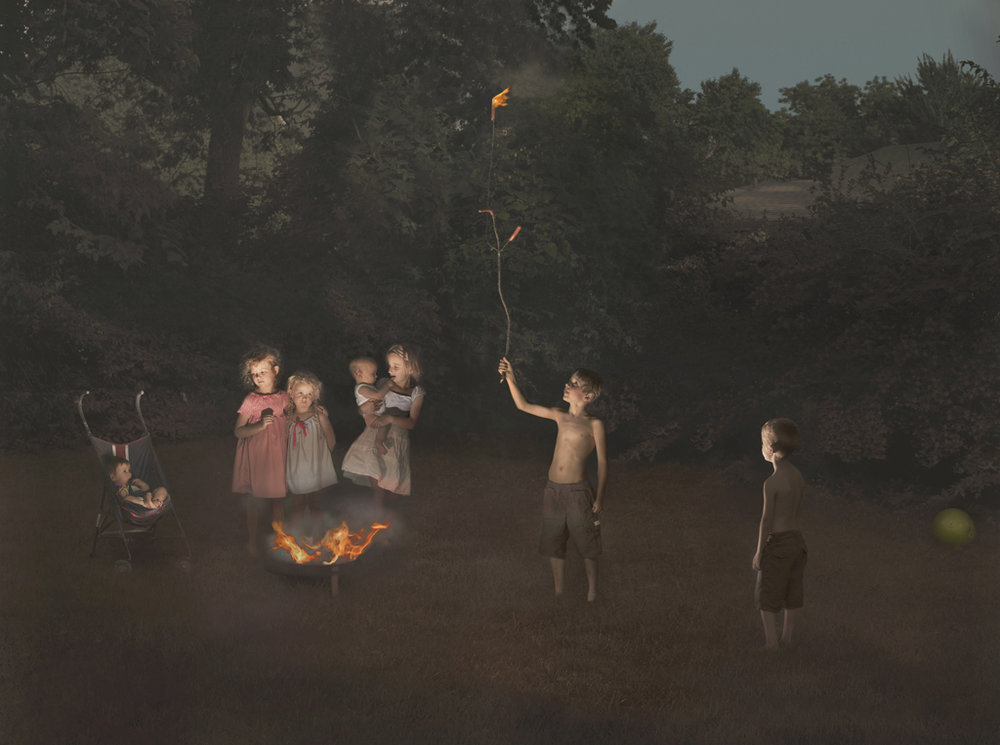 JULIE BLACKMON Fire, 2012