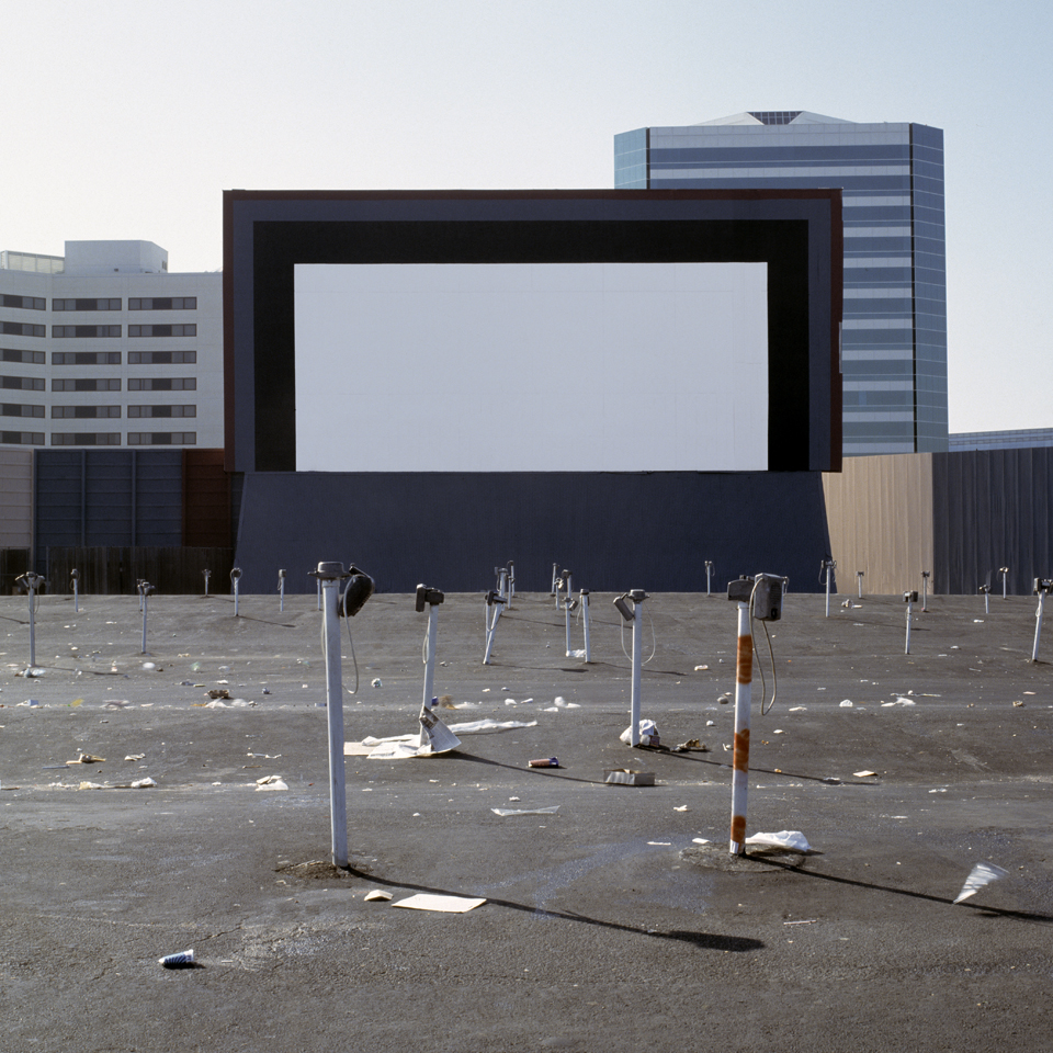 JEFF BROUWS,  Orange, California  (from the series Color Drive-In Theaters), 1994